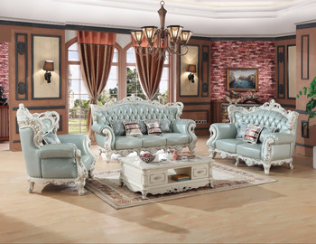 french replica leather lounge suite