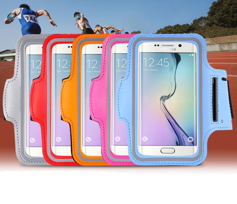 Для HTC X920e ( бабочка ) открытый повязки фитнес бег спортивный зал ходьба бег повязку браслет чехол сумка из неопрена 5.0