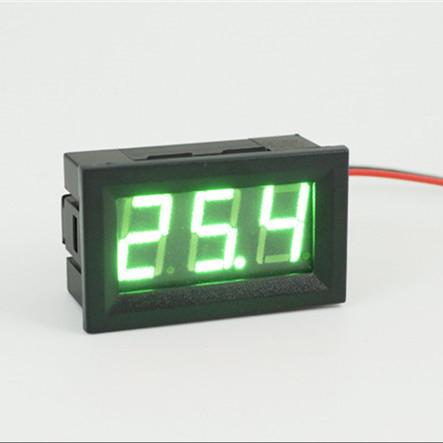 Blanco LED Digital Volt/ímetro Medidor De Voltaje De Tensi/ón Panel De Visualizaci/ón Para Coche Motocicleta