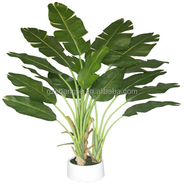 quality artificial plant/Ravenala madagascariensis with 19 leaves/artificial plant and trees