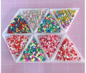 HOT New Design Slime Charms Colorful Sugar Shape Sprinkles For DIY Slime Making Kit Resin Ornaments Wholesale