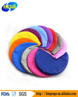 Silicone Swimming Long Hair Bubble Cap Ear Wrap Waterproof Hat for Women and Men
