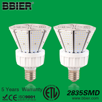 ETL/CE/SAA 60w outdoor lighting garden bulb for pole mount led post top retrofit lamps