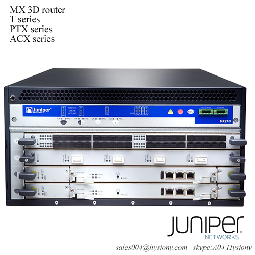 MX240BASE3-ACL Juniper MX240 Base Bundle, Lowline AC power