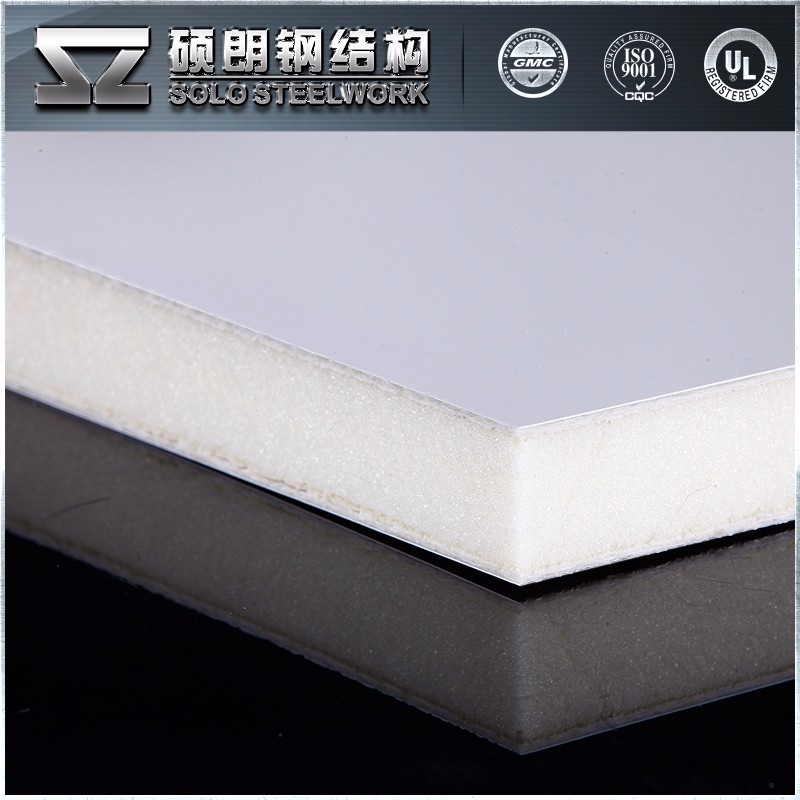Top Quality Bottom Price Soundproof Polyurethane Foam Sandwich Panels