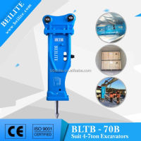 4 to7 Ton excavator hydraulic breaker/ hydraulic rock breaker hammer