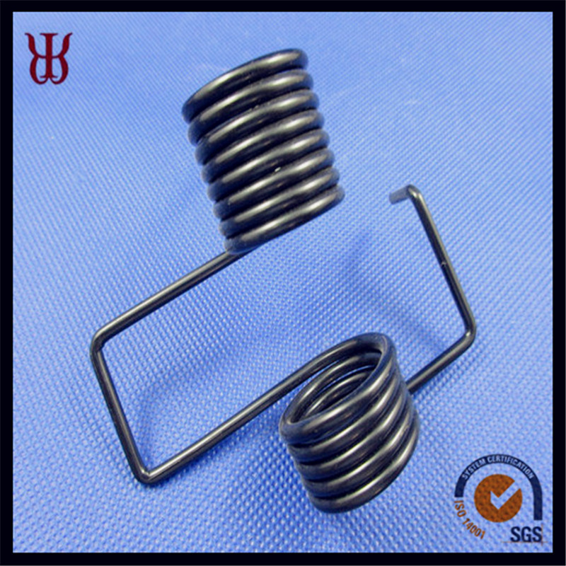 Music wire double  torsion spring for machinery