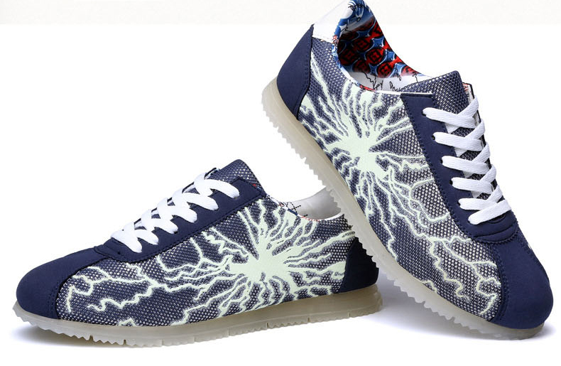 Тип платы обувь вспышка флуоресценция улица обувь микрофибра кожа осирис обувь SHOE0003
