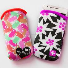 Colorful Neoprene phone covers for htc desire hd case
