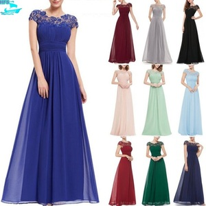 HFS1588B New Fashion Elegant Ladies Lace Ball Gowns Prom Dresses