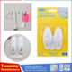 New arrival wall door self adhesive / bathroom plastic hanging hook for glass