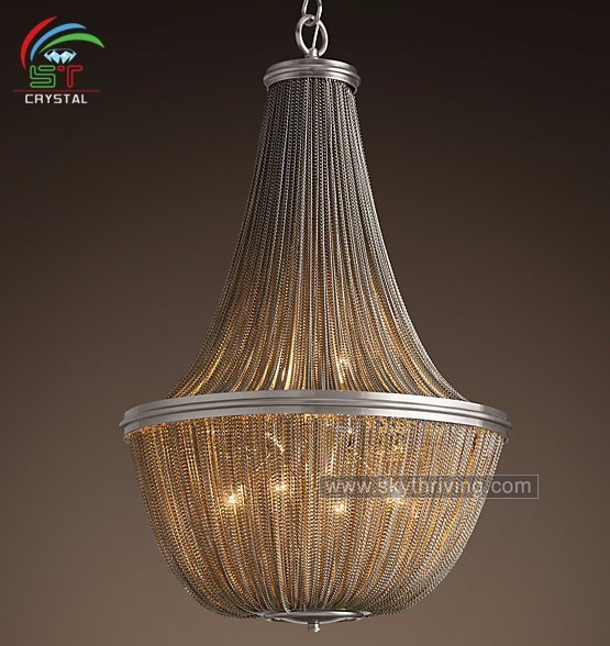 Buy cheap china decorative chandelier chains products find china polished nickel decorative chain chandeliers audiocablefo