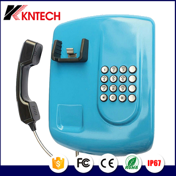 Services landline telephones with sim card KNZD-04 Hot line phone Bank Phone Kntech Sip phone