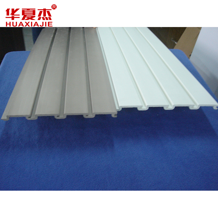 pvc slatwall panel fabrikant in china