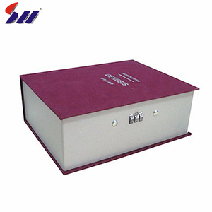 China supplier price combination deposit diversion book safe stash box wholesale