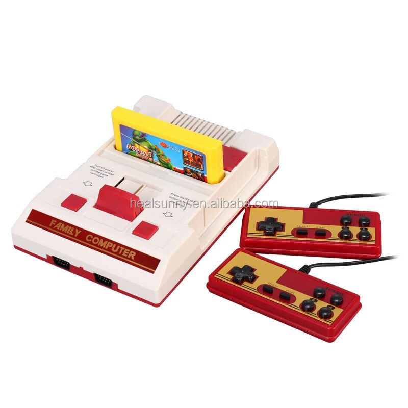 8 bit Game Cartridge for TV game include Mario series Contra Hot Blood for FC Compact video game consoles