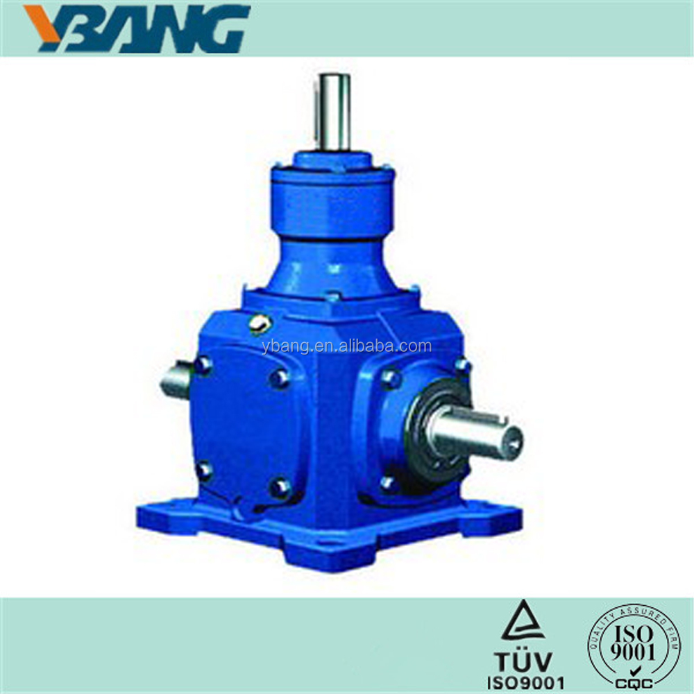 T series Spiral Bevel Gear Speed Reducer Ratio 1:1