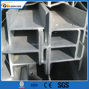 Hot Rolled Structural Steel Profile H beams H shaped hollow section for building house ,bridge