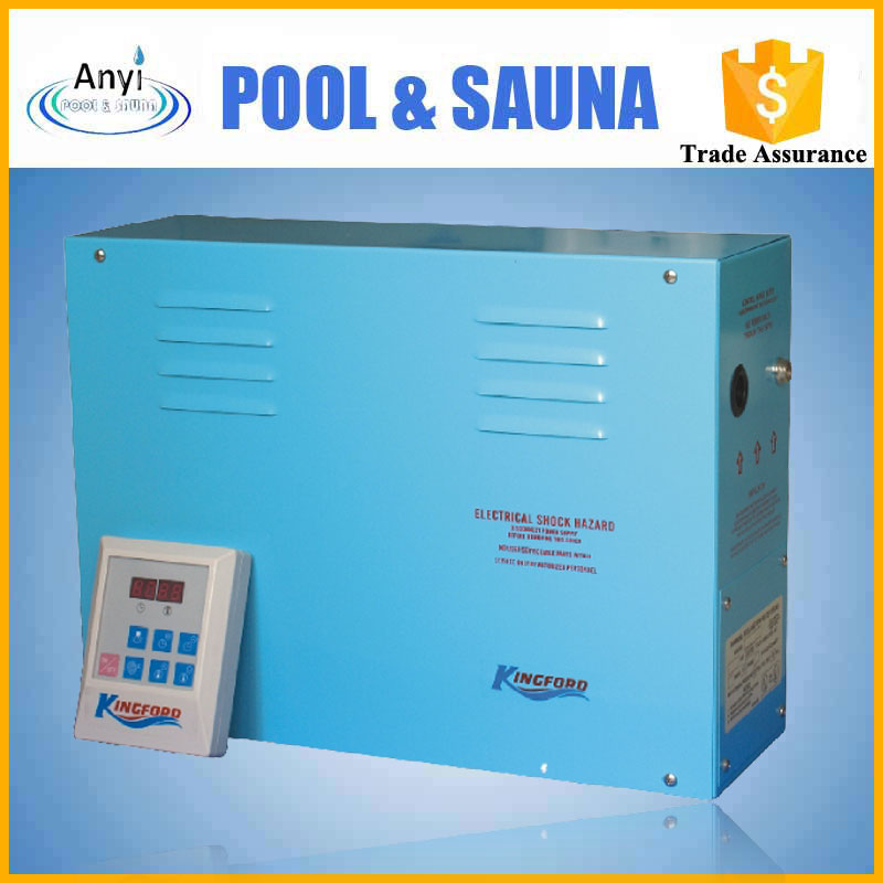 Portable steam generator for mini electric steam generator used for wet sauna room