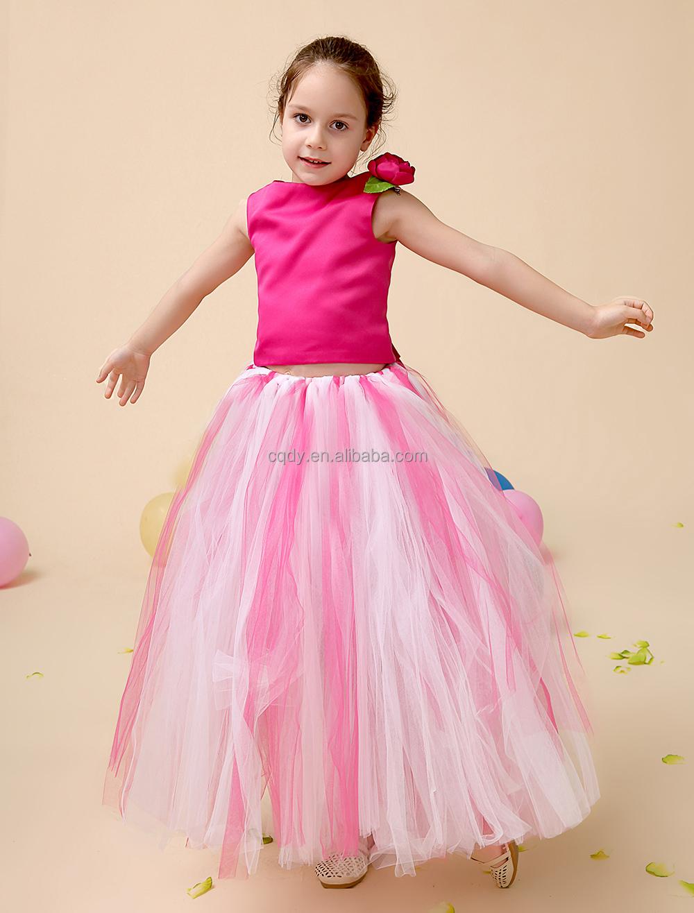2015 wedding tulle dress frock design for baby girl for Baby girl dresses for weddings
