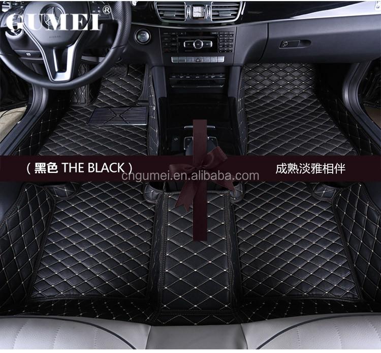 5d Luxury Leather Floor Mats Hilux 3d Leather Car Mats Buy 5d