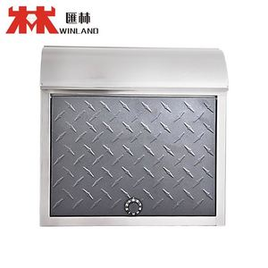 Hot Sale powder coating Post box simple marble mailbox