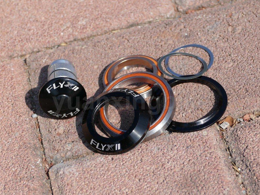 "Aerozine XH856 Road CX Bike Integrated Headset Taper 1-1//8/""~1-1//4/"" Campy Italian"