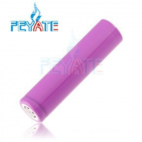 5A discharge Sanyo battery 2500mAh 3.7V li-ion battery pink color Sanyo battery for e-cig mod/flashlight