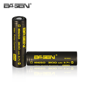 Wholesale 18650 50a 3100mah 3.7v battery li-ion 18650 battery basen 3100 mah
