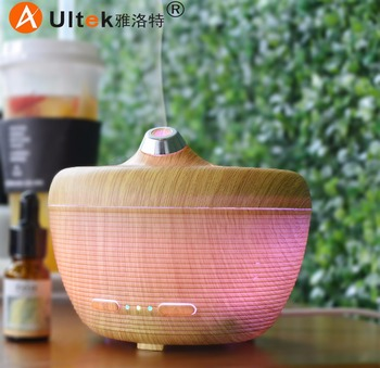 wood and ceramic aromatherapy diffuser portable whole house humidifier USB wood mortising machine humidifiers