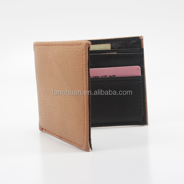 PU Leather Rfid Blocking Wallet for Men Travel Credit Card Case RFID Wallet