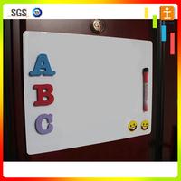 Magnetic whiteboard calendar dry erase blank fridge magnet