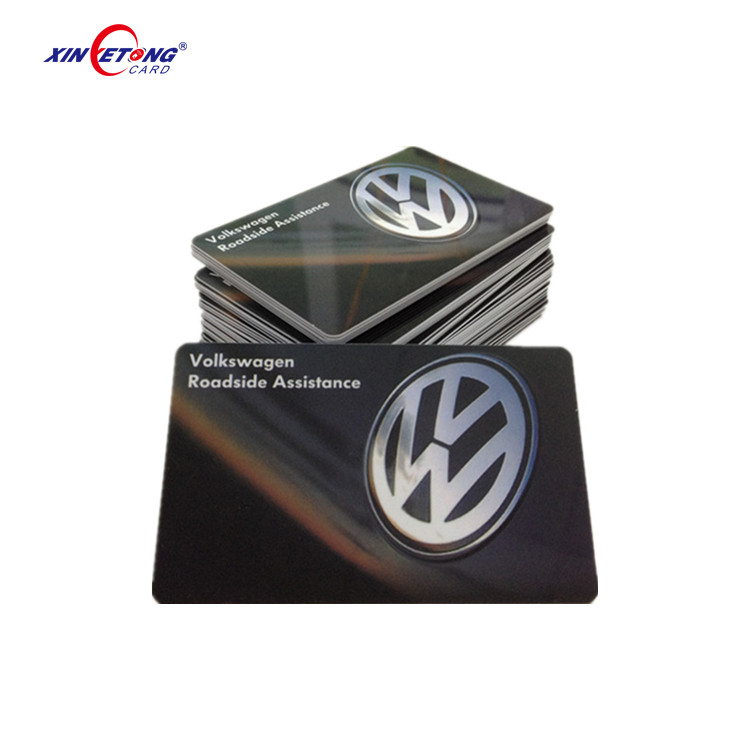ID Card Plastic Luxury VIP Membership Cards with Custom Logo