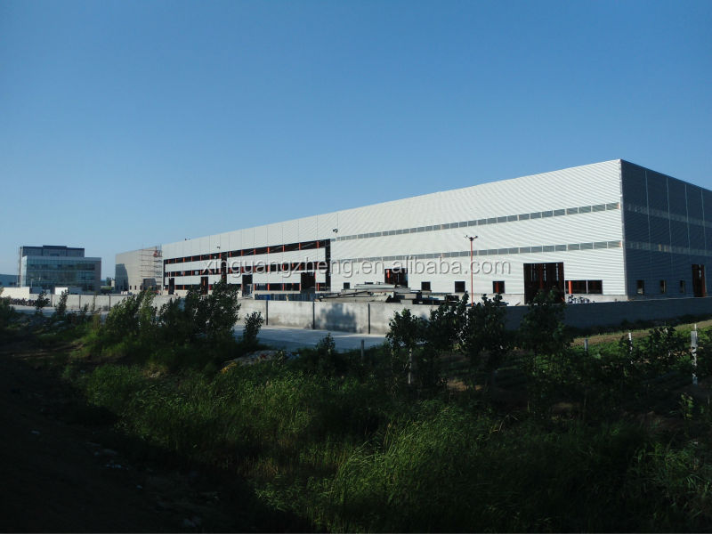 Prefab steel structure hangar for aircraft