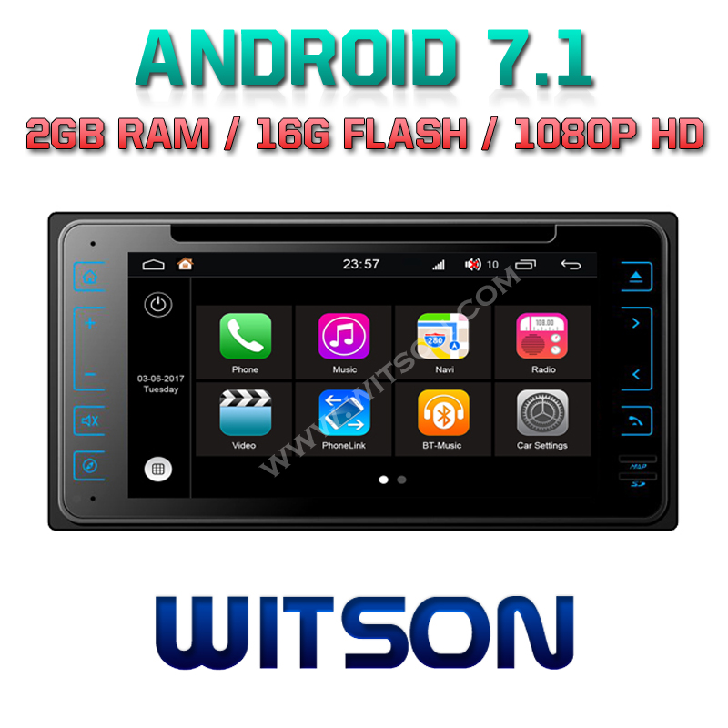 WITSON S190 <strong>ANDROID</strong> 7.1 AUTO RADIO DVD PLAYER GPS FOR <strong>TOYOTA</strong> <strong>UNIVERSAL</strong> 2G DDR3 1080P HD EXTERNAL BLUETOOTH MICROPHONE