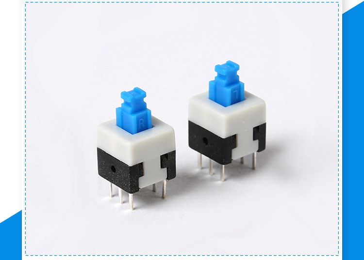 Switches Reasonable Hot Sale Free Shipping 6*6*10.5 Micro Switch Touch Switch Button Switch Complete In Specifications