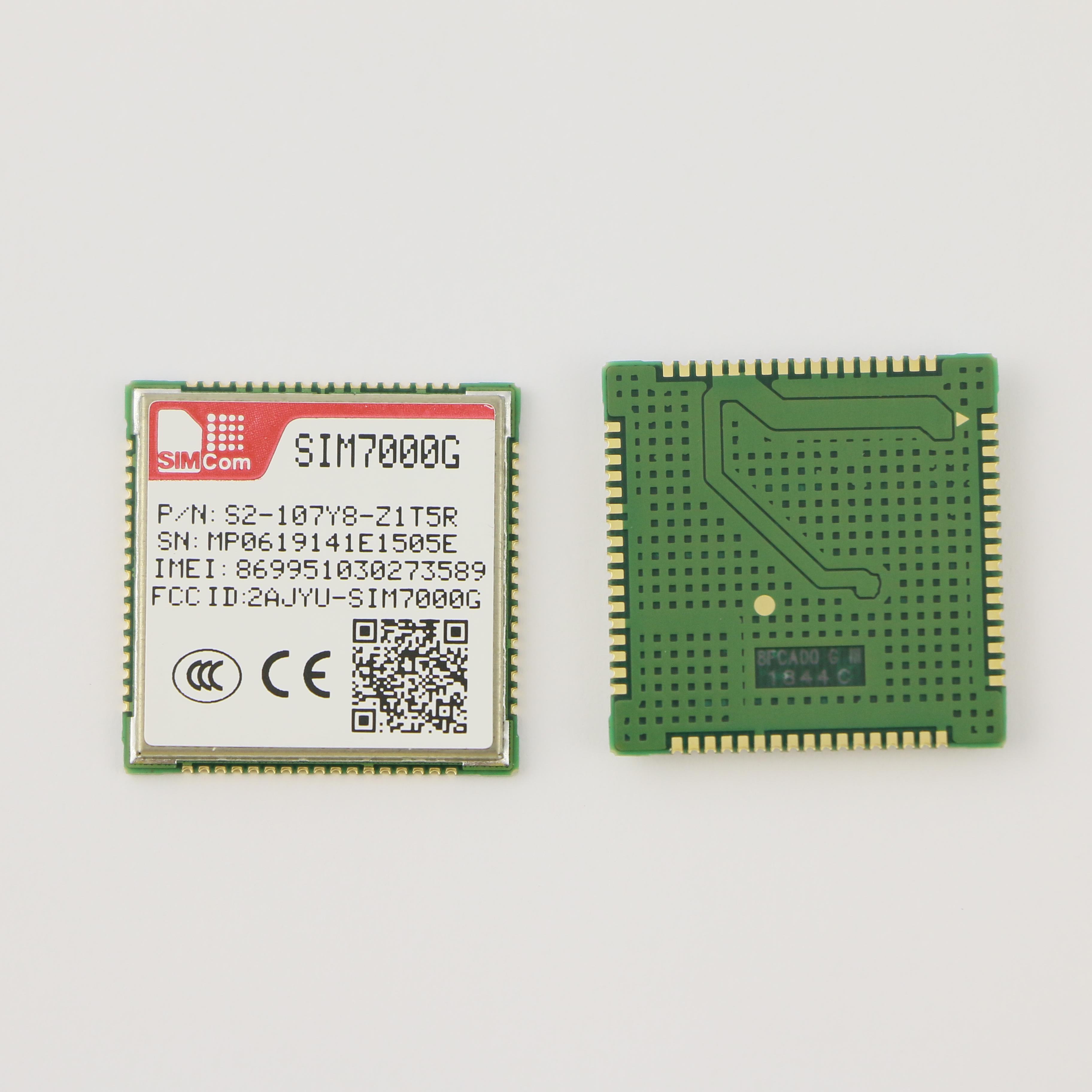 eMTC/NB-IoT/EDGE Module LTE mdoule new and original SIMCOM module SIM7000G LCC Globally used