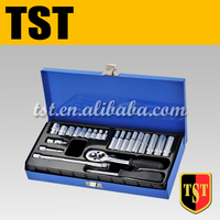 Professional 23pcs Socket Set With Blue Case