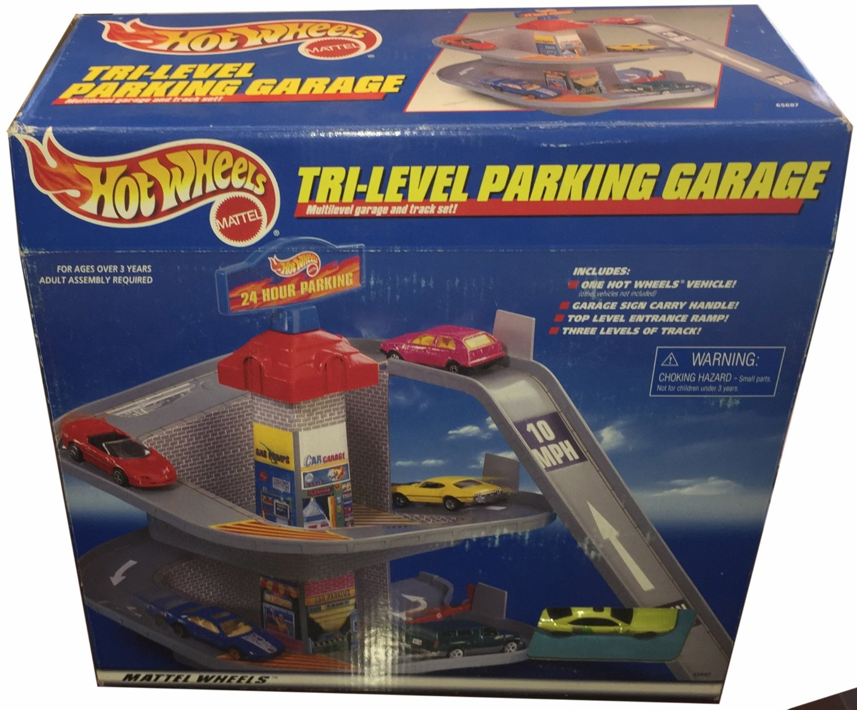 buy hot wheels 3 level parking garage play set track set 1 64 Parking Spot hot wheels 3 level parking garage play set track set 1 64