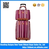 Hot sale 20 inch high quality universal wheel trolley bag nylon luggage trolley case with handbag