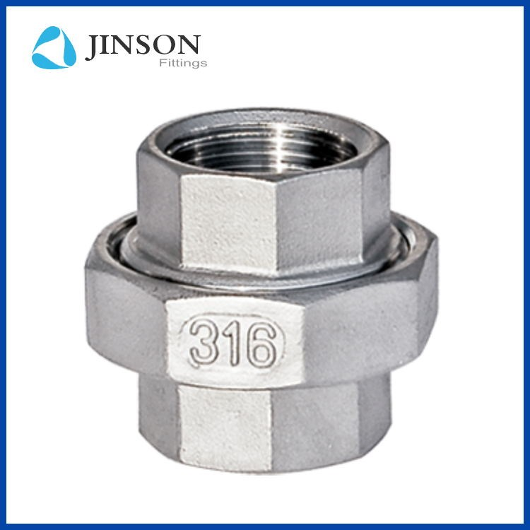 Stainless Steel seat conical union with Female thread