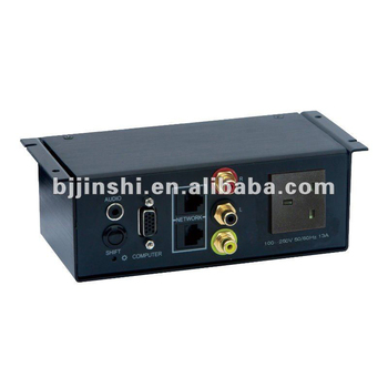 Power Data Outlet Plug For Conference Table Connection Box Buy - Conference table connection box