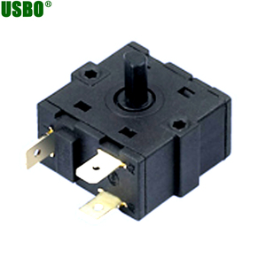 125V 16a/4a T125 gear rotary potentiometer switch 4 position