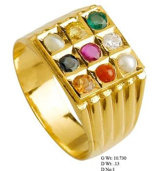 ring real gold gemstones buy rings product detail navaratna