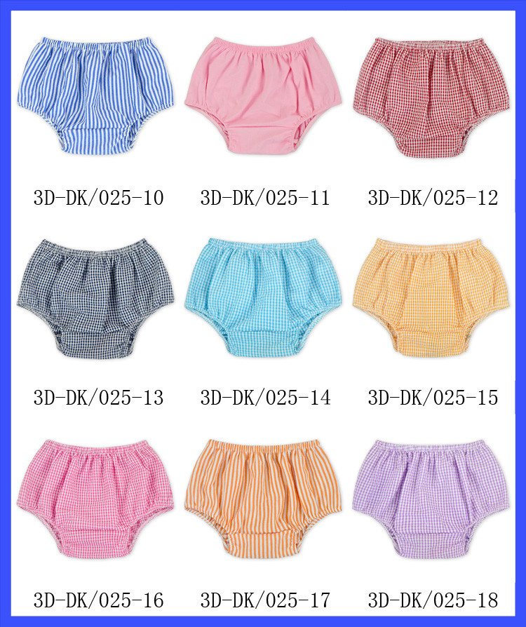 f7f28b6298b0 Newest Baby Nappy Diaper Cover Pattern Cotton Bloomers Newborn Baby ...