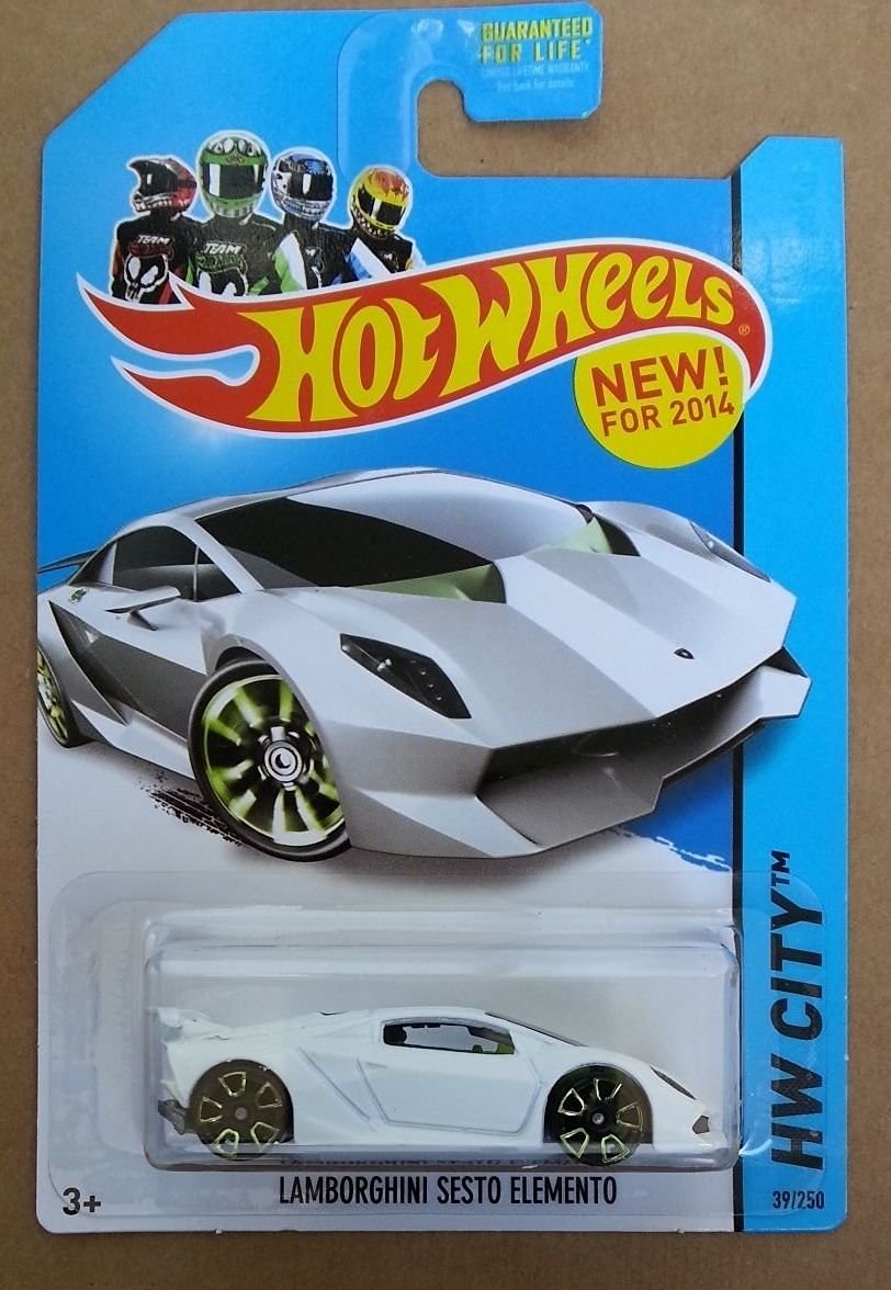 Buy Hot Wheels Hw City Lamborghini Sesto Elemento White 39 250 In
