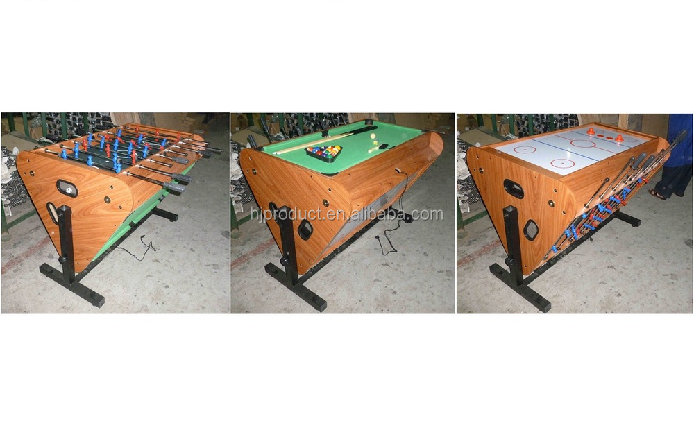 Hot Selling Attractive Price Mdf Table Soccer Board Game, Multi Function Game  Tables For Kids