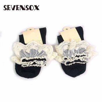 1bfb6e6dce514 Wholesale Fashion Women Elegant Black And White Lace Socks - Buy ...