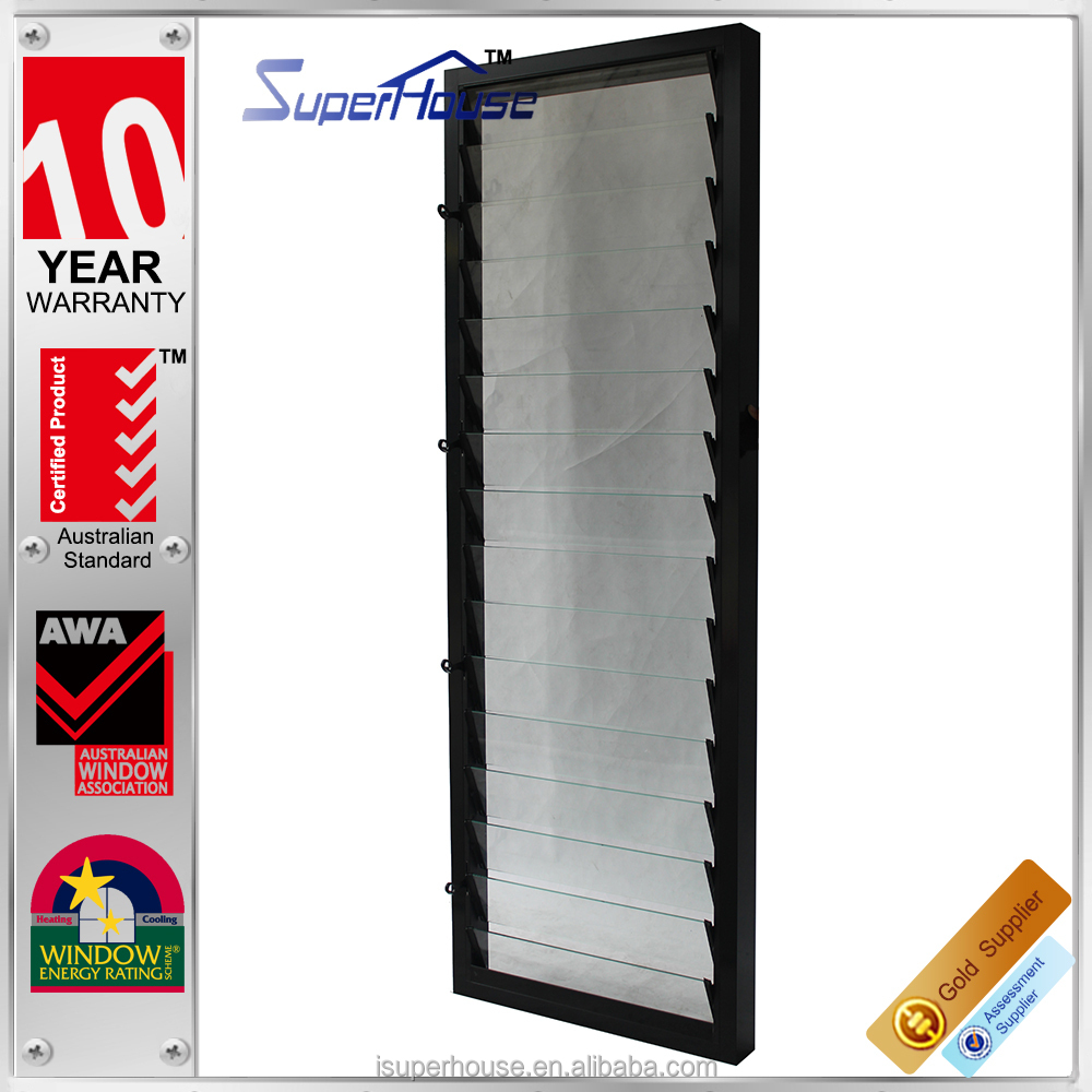 Superb glass louver windows with Lisec glass