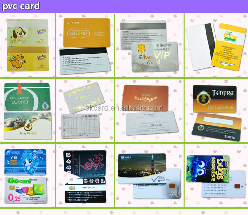 Custom Rfid Vip Sample Membership Card Discount Card For Hotel And ...